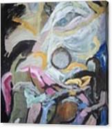 Descending Figures Canvas Print