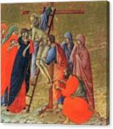 Descent From The Cross 1311 Canvas Print
