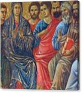 Descent Of The Holy Spirit Upon The Apostles Fragment 1311 Canvas Print