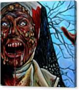 Desecration Canvas Print