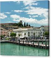 Desenzano Del Garda Lake Garda Italy Canvas Print