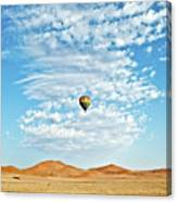 Desert Balloon Canvas Print