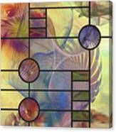 Desert Blossoms - Square Version Canvas Print