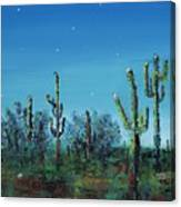 Desert Blue Canvas Print