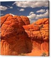 Desert Brain Rocks Canvas Print