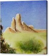 Desert Butte Canvas Print