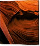 Desert Carvings Canvas Print