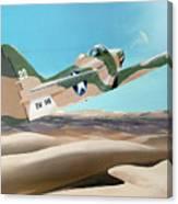 Desert Cobra Canvas Print