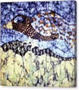 Desert Crow Canvas Print