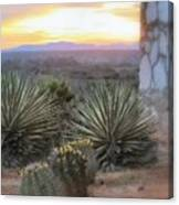 Desert Dawn Canvas Print
