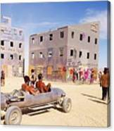 Desert Drive Canvas Print
