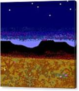 Desert Eve Canvas Print