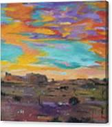 Desert Finale Canvas Print