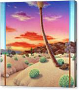 Desert Gazebo Canvas Print
