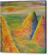 Desert Hiding 2 Canvas Print