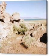Desert Lake Canvas Print