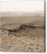 Desert. Morning. Canvas Print