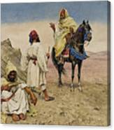 Desert Nomads Canvas Print