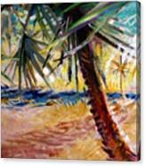 Desert Seashore Canvas Print