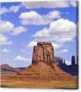 Desert Sky Over Monument Valley Canvas Print