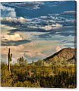 Desert Sky - San Tan Arizona Canvas Print