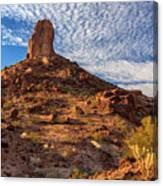 Desert Spire Canvas Print