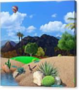 Desert Splendor Canvas Print