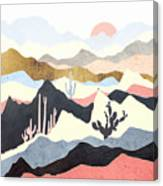 Desert Summer Canvas Print
