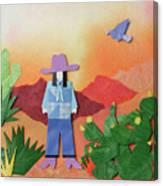 Desert Sunrise By Mary Ellen Palmeri Canvas Print