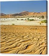 Desert Texture In Namib-naukluft Canvas Print