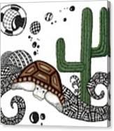 The Desert Tortoise Canvas Print