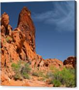 Desert Tower Valley Of Fire Canvas Print