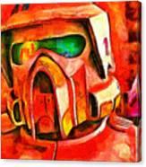 Desert Trooper - Pa Canvas Print