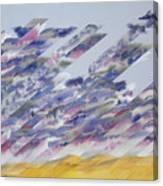 Desert Under Storm Canvas Print