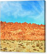 Desert Valley Of Fire Canvas Print