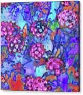 Desert Vibe Bloom Canvas Print