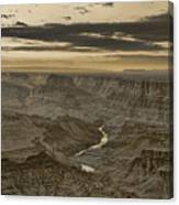 Desert View II - Anselized Canvas Print