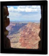 Desert Watchtower View Grand Canyon  Canvas Print