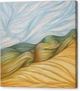 Desert Waves Canvas Print