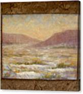 Desert Winter Canvas Print