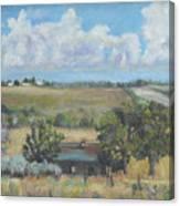 Deserted Farm House Canvas Print