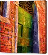 Deserted Venice  Canvas Print