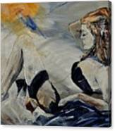 Deshabille 570150 Canvas Print