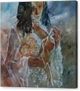 Deshabille 67 Canvas Print