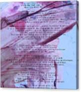 Desiderata 3 Canvas Print