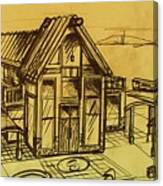 Design Sketch  Canvas Print