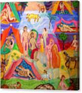 Desire In The Desert Canvas Print