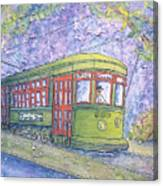 Desire Street Streetcar Canvas Print