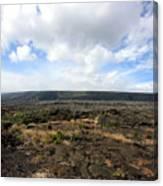 Desolate Lava Field Canvas Print
