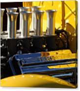 Desoto Firedome Eight Engine Canvas Print